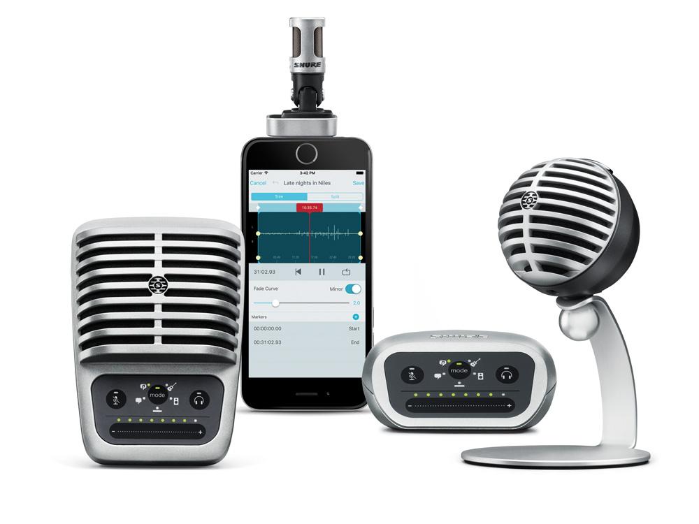 MOTIV Microphone Family
