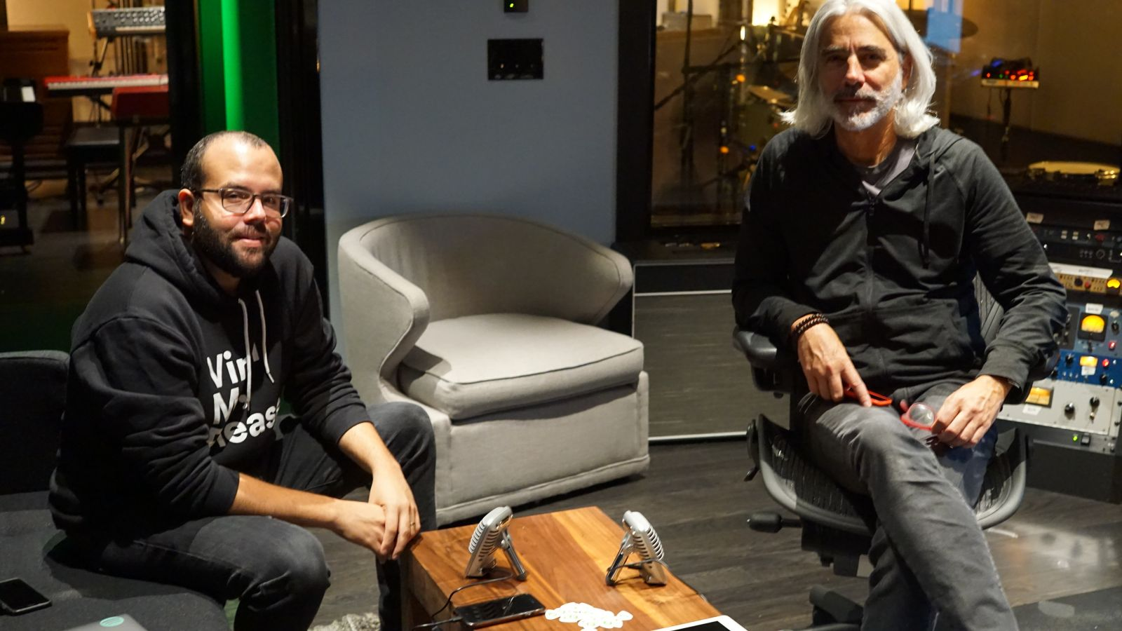 Bryan Grone & William Garrett From Spotify Studios