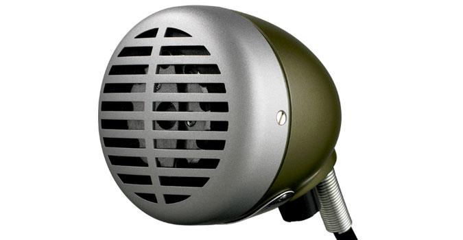 Shure Green Bullet Model 520DX