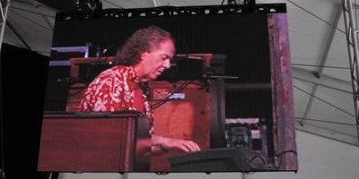 Larry Byrne at The New Orleans' Jazz & Heritage Festival, 2013