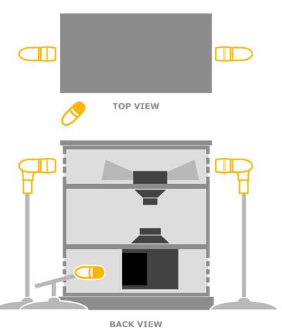Figure 5 - Beta 56®A (2) on top, KSM27 on rotor