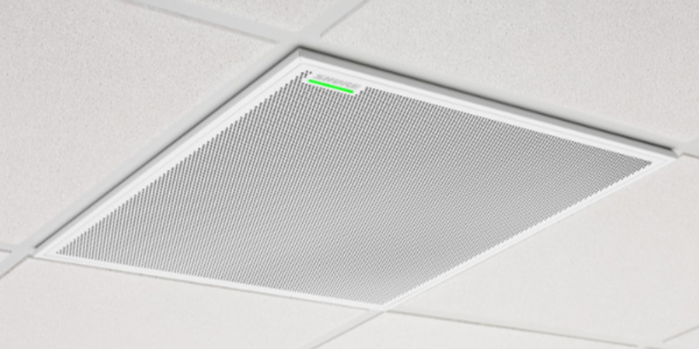 New Version Of Shure Microflex® Advance™ MXA910 Microphone For Drop-Ceiling Installation Now Shipping To U.S. Customers