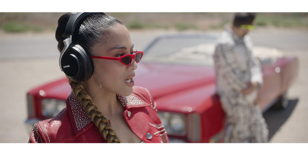 Recording Artist Ally Brooke Sports New Shure AONIC 50 Headphones In Debut Music Video