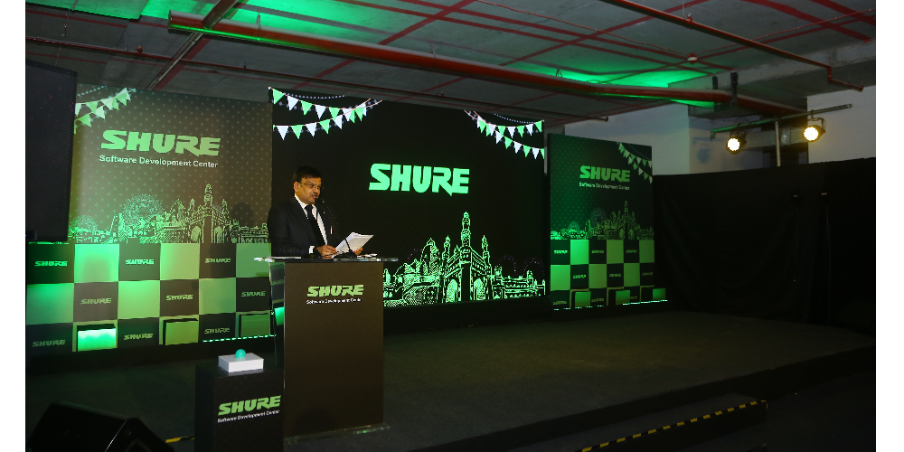 Shure Celebrates Grand Opening Of Hyderabad Office –  The Company's First Software Development Center In India