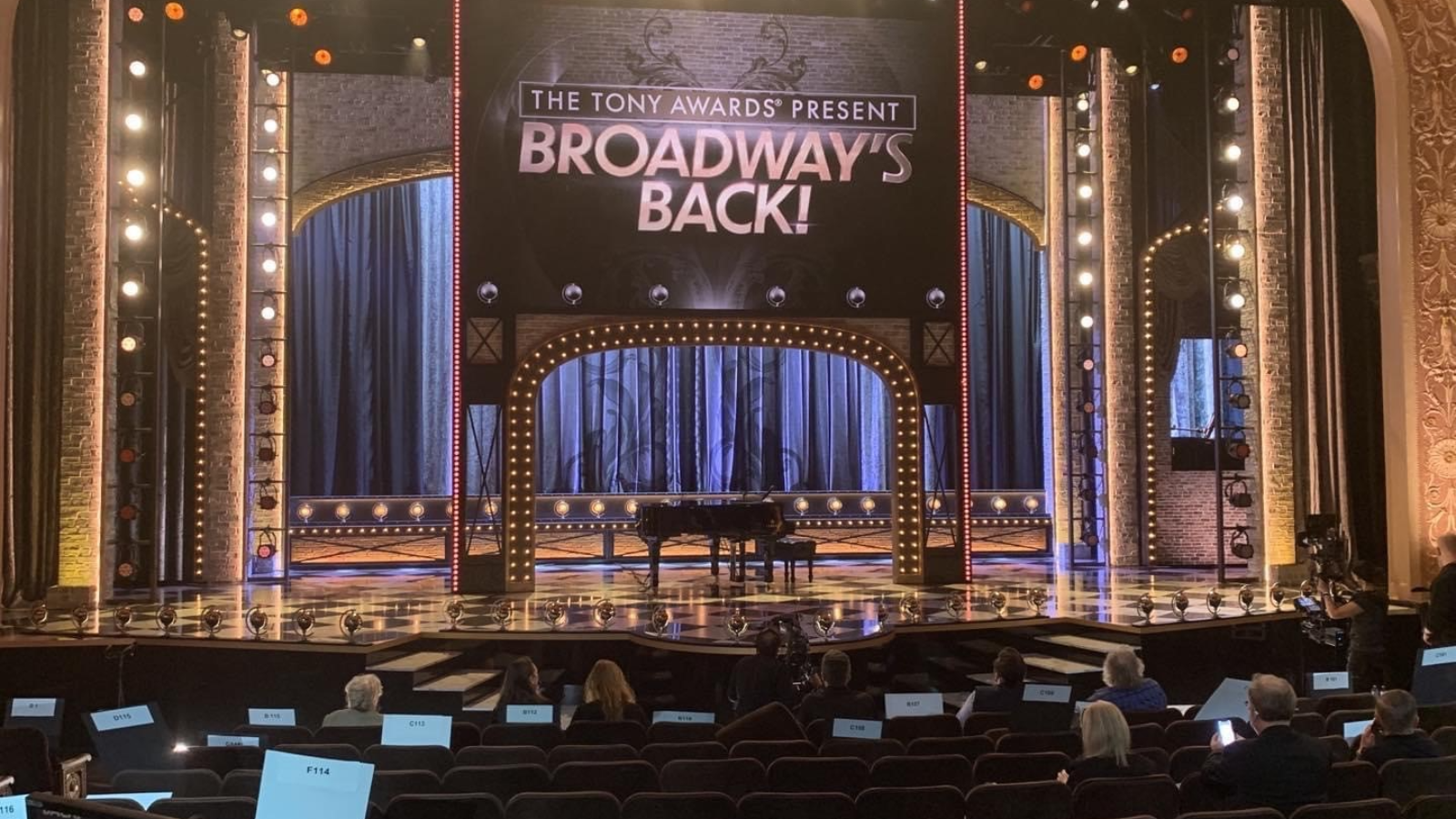 Shure Helps Tony Awards® Welcome Back Broadway with Unparalleled  Wireless Audio Technology