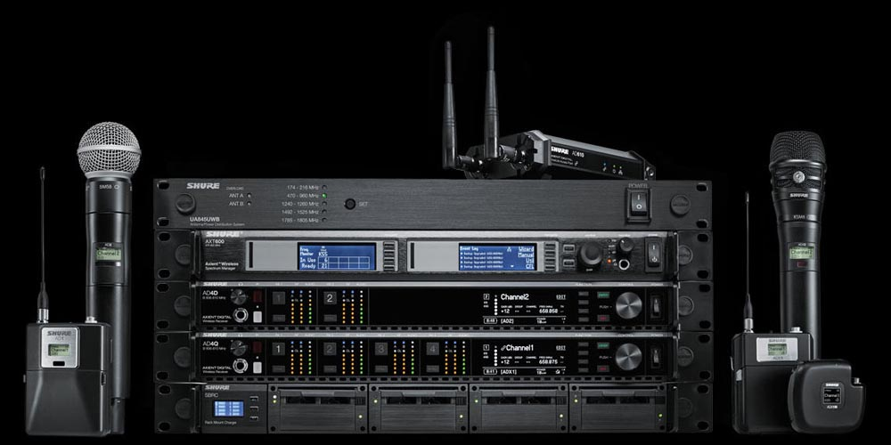 Shure Highlights Axient® Digital Wireless System