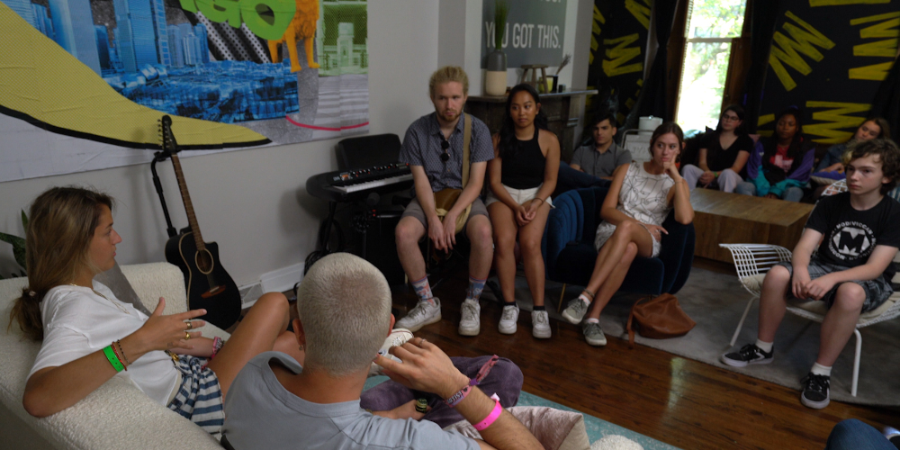 Shure Hosts Student Education Event With Lollapalooza Artists, Behind-The-Scenes Overview At 'For Those Who Tour' House
