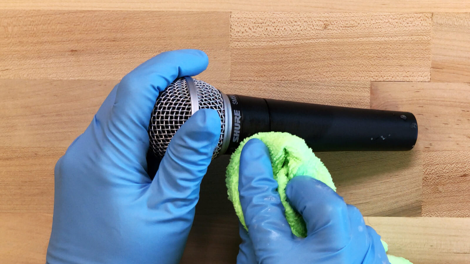 Shure Releases New Recommendations For  Cleaning Its Audio Products