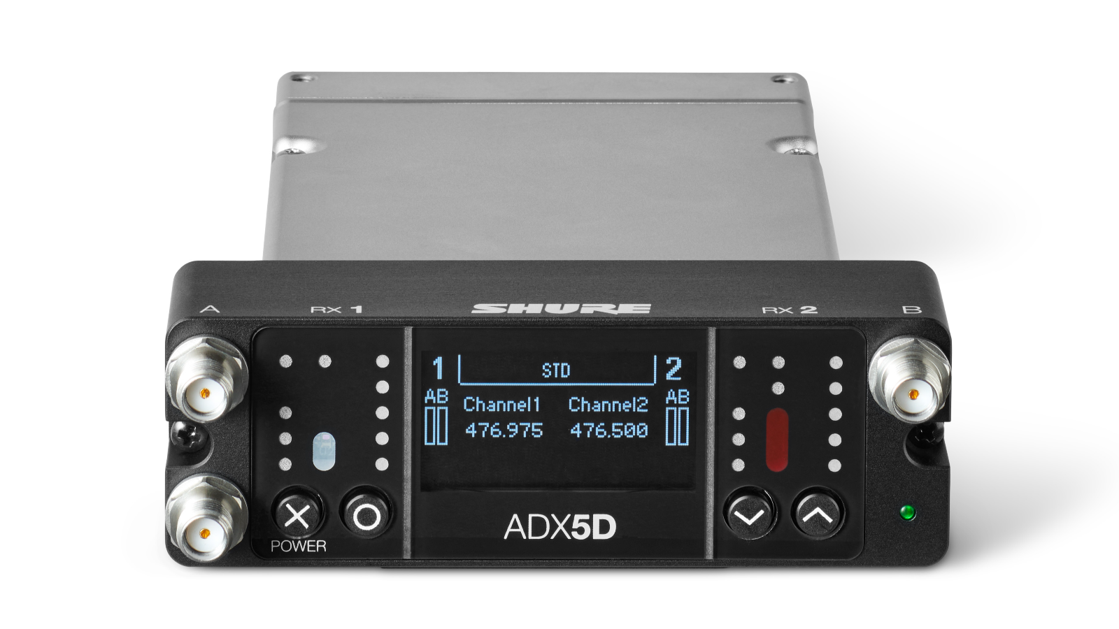 Shure Rolls Out Third-Party Integration and Control with Aaton Digital and Sound Devices for Axient® Digital Dual-Channel Portable Wireless Receiver