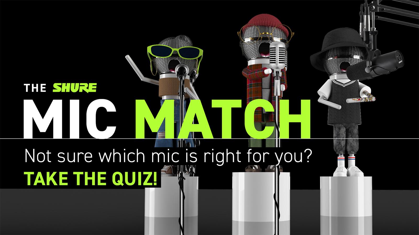 Shure Se Une a Jacob Collier, Amber Liu y a Otros Artistas para Ayudar a Los Vocalistas a Elevar Sus Voces Con El  Mic Match Quiz