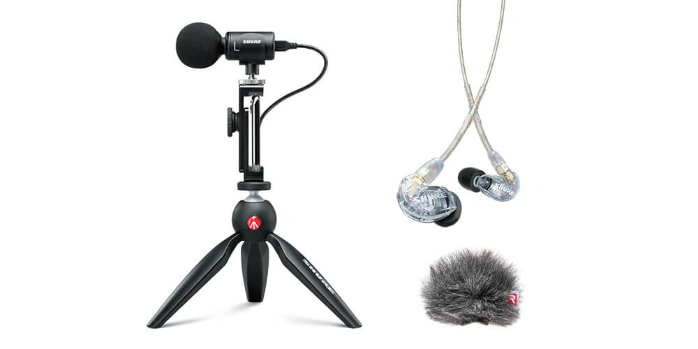 Specially Crafted Bundles From Shure Provide Cost-Effective, Quality Audio Kits For A Variety Of Audiences