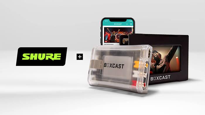 Shure + BoxCast