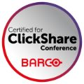 Certified for ClickShare Conference - Barco